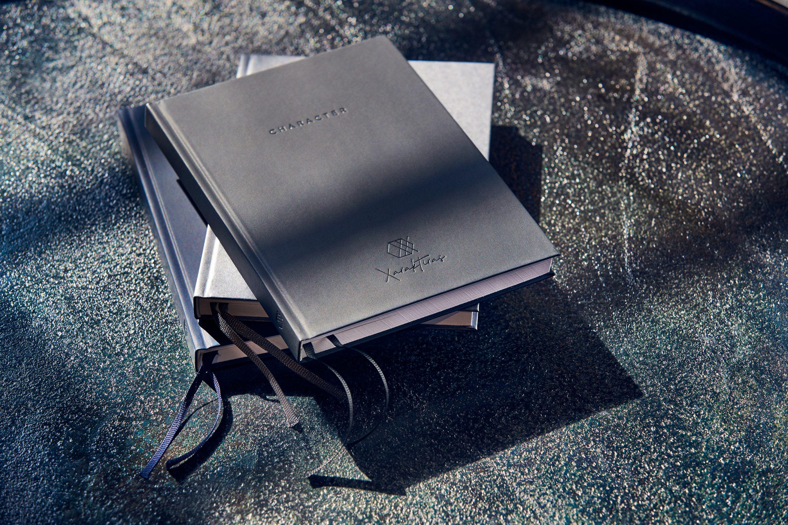 Xaraktiras Design-Notizbuch Pure