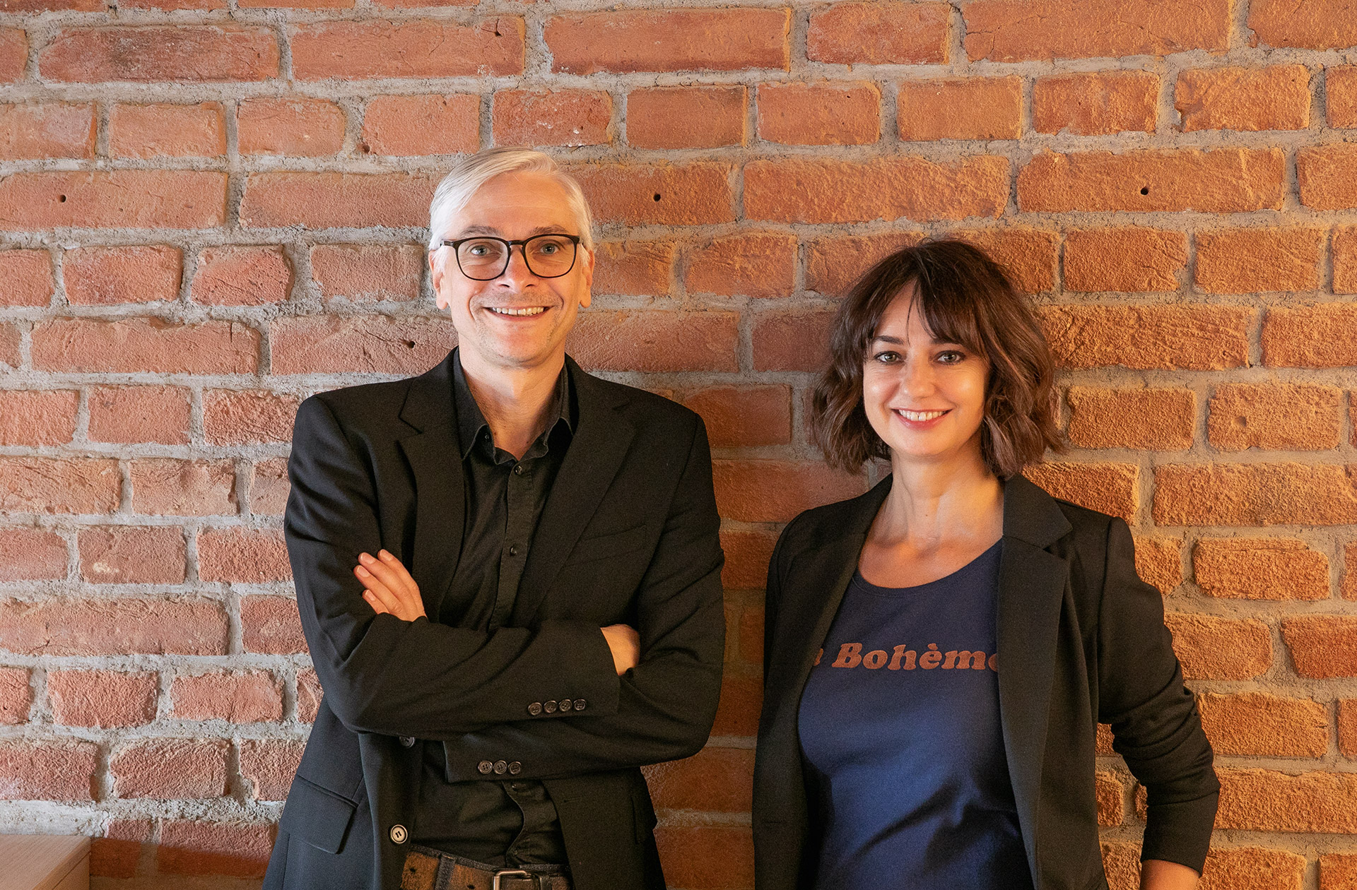 Christine Horn und Thomas Esterer